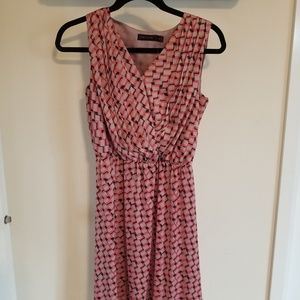 Size xs limited dress. Blush pink, taupe and grey.
